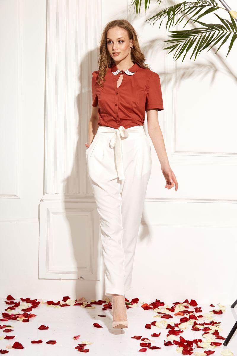 блуза AMORI 6206 терракот