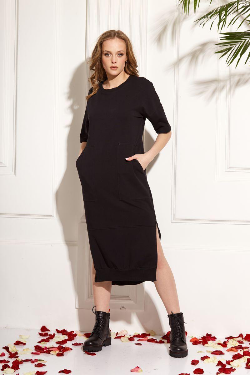 платье AMORI 9456 черный
