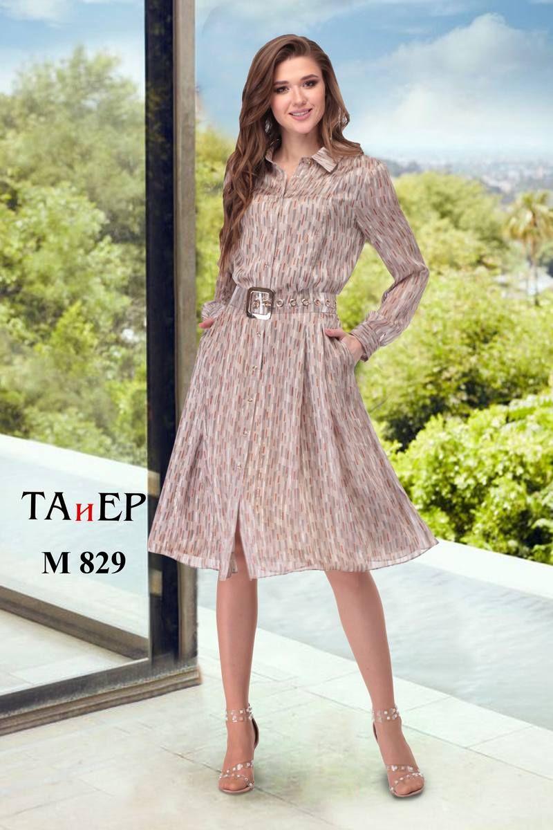 платье,  пояс TAiER 829-1