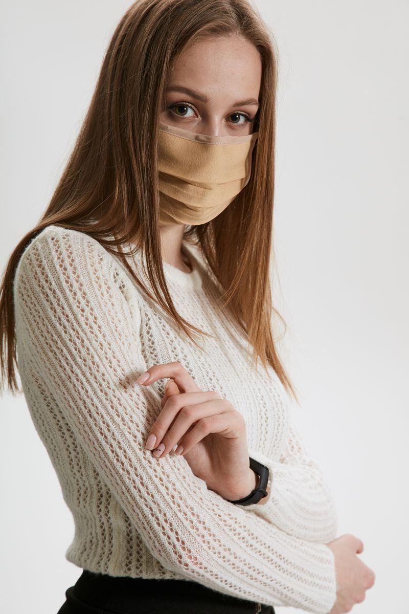 маска AMORI 1003 бежевый
