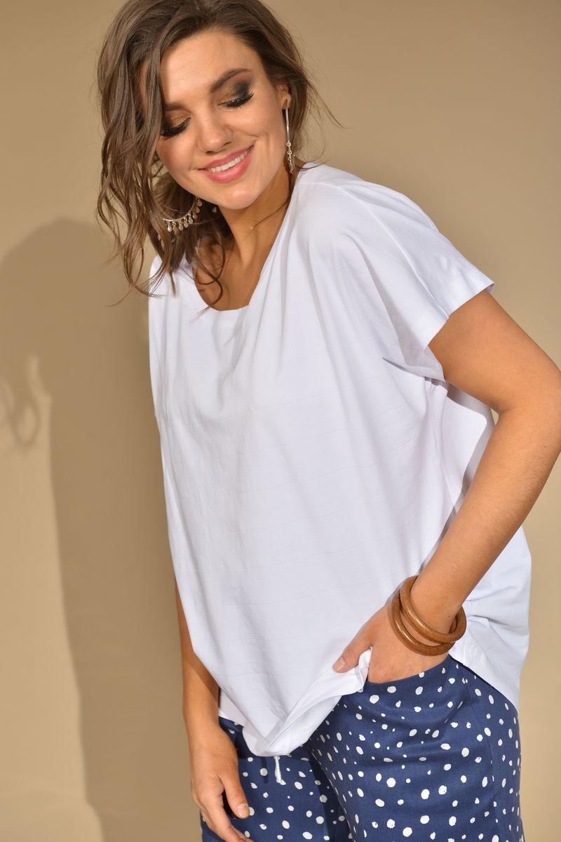 футболка GRATTO 4126 белый
