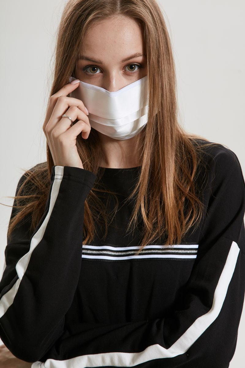 маска AMORI 1003/10шт. белый