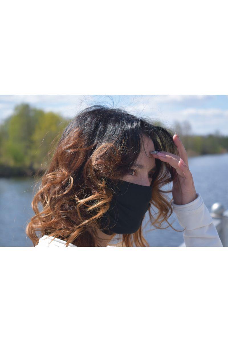 маска AMORI 1007-2(черный)/5шт.
