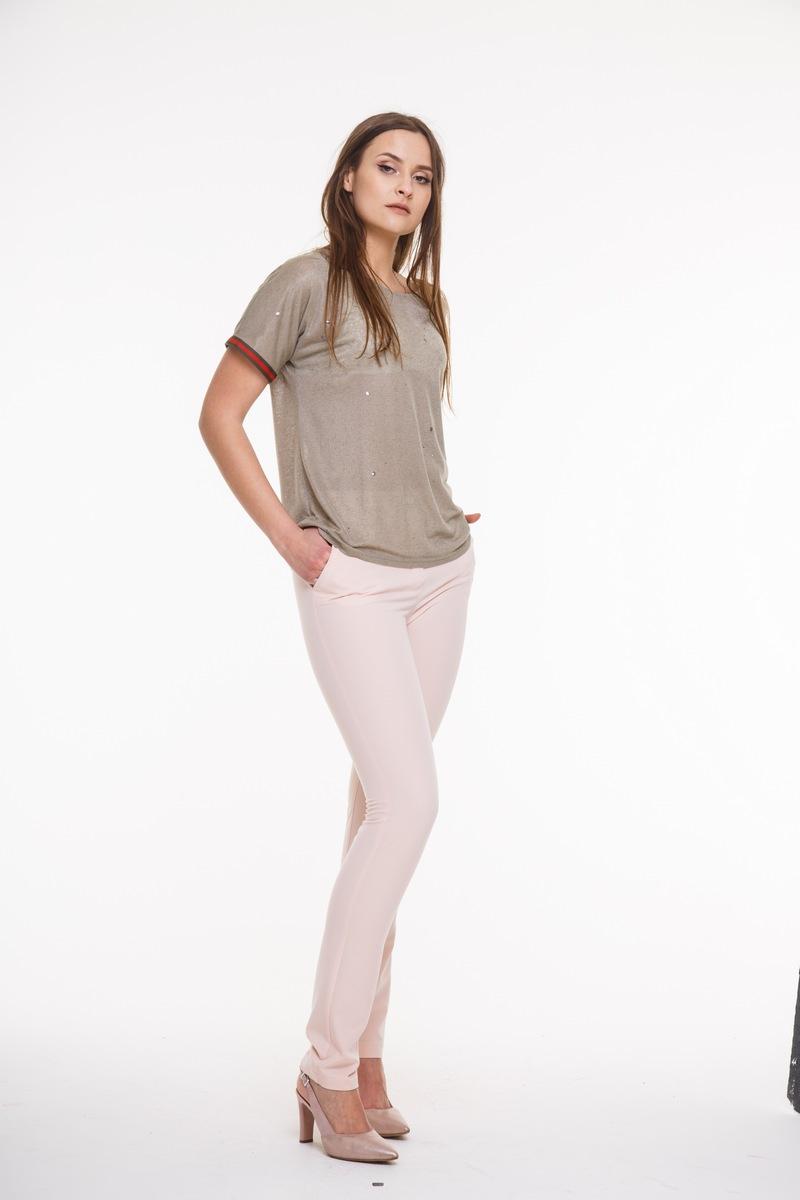 брюки AMORI 5017 пудра