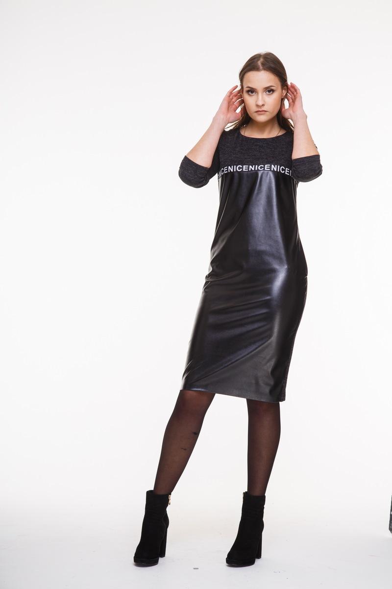 платье AMORI 9274 черный