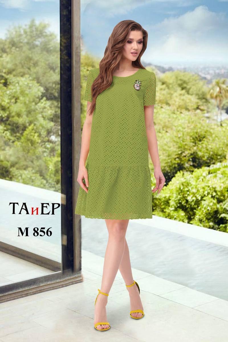платье TAiER 856 зеленый