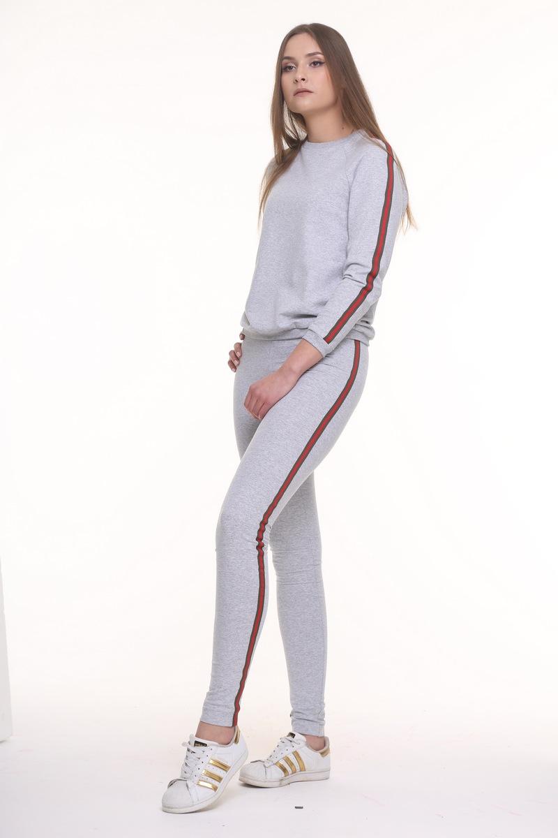 леггинсы AMORI 5031 серый