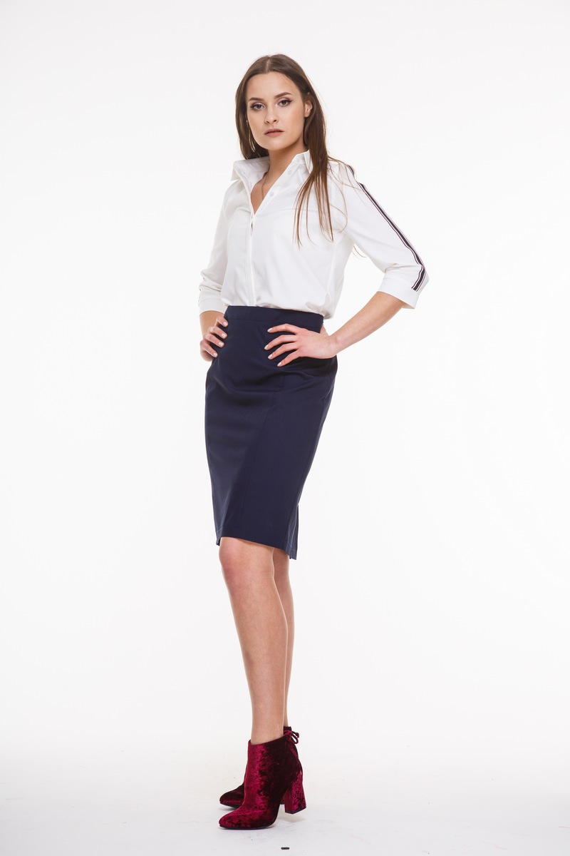блуза AMORI 6079 белый