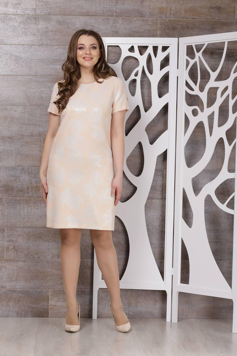 платье TAiER 588 персик