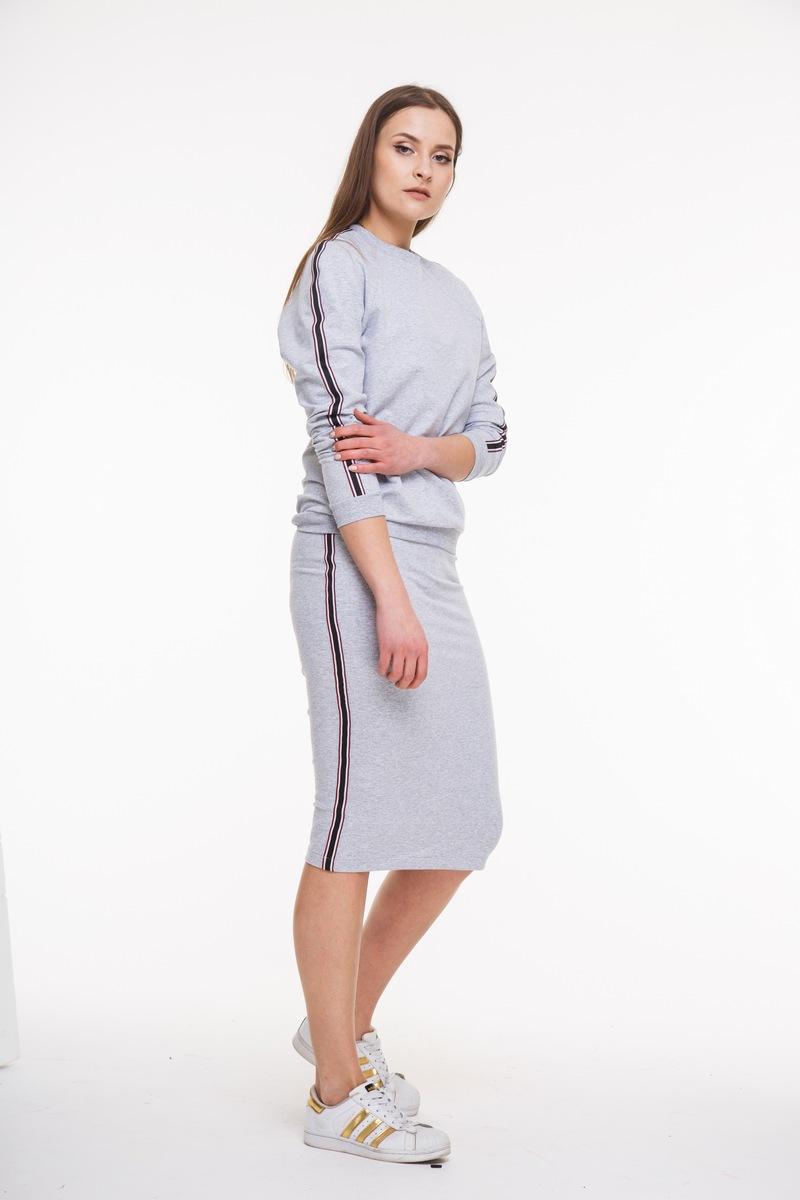 юбка AMORI 3047 серый