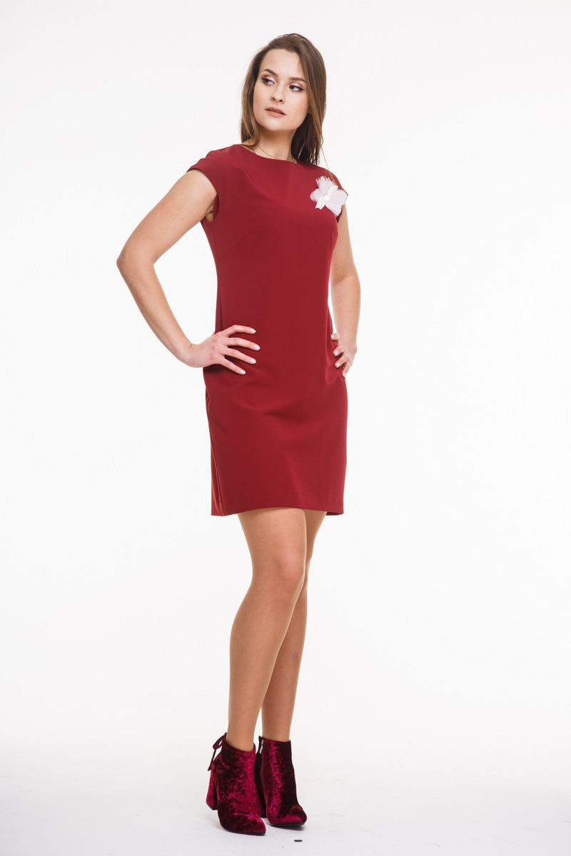 платье AMORI 9268 вишневый