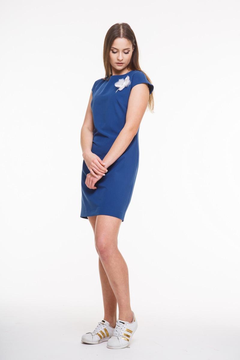 платье AMORI 9268 синий