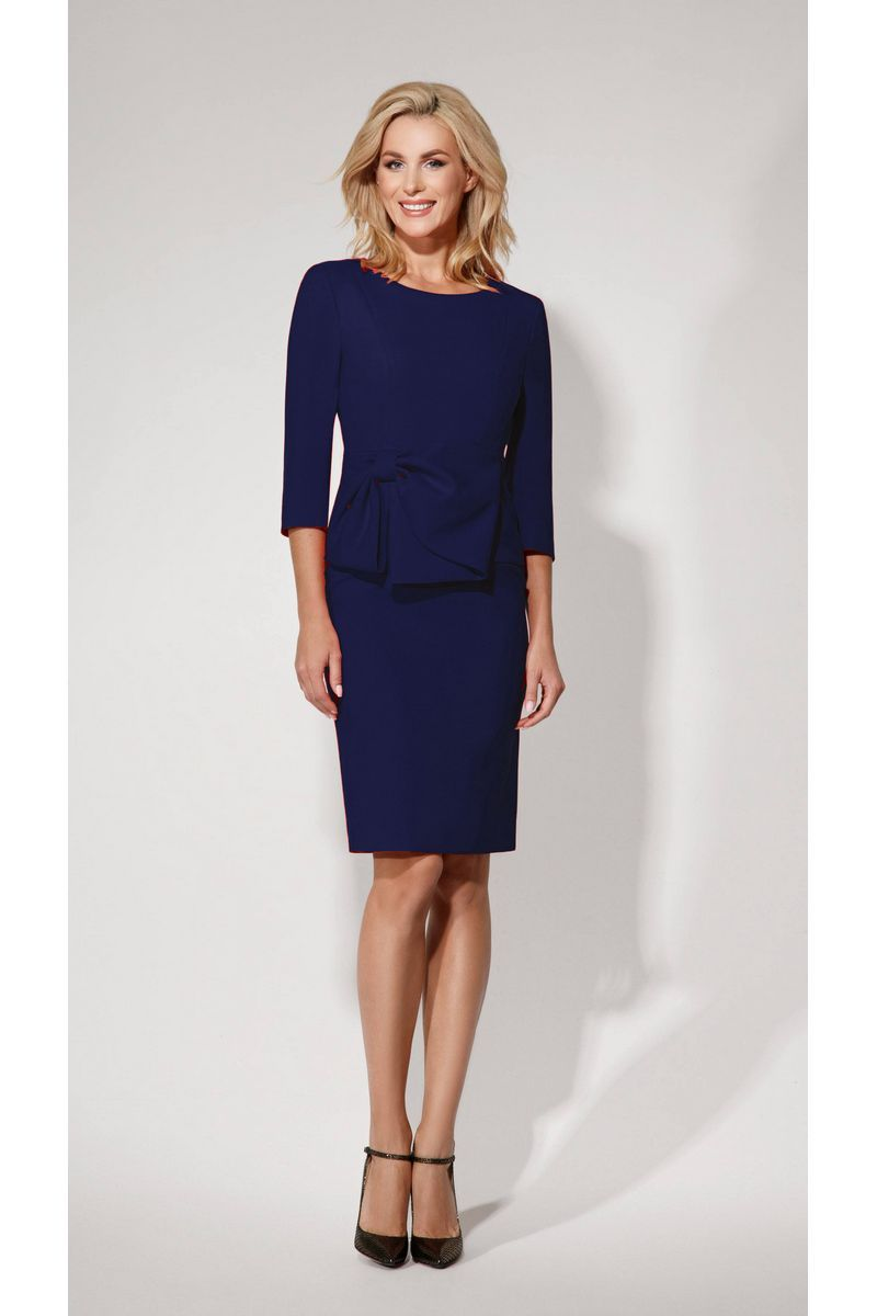 платье Vladini 4011 синий