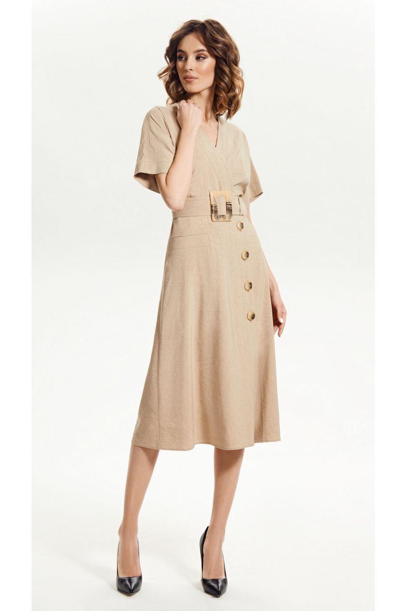 платье Vladini 4145 бежевый
