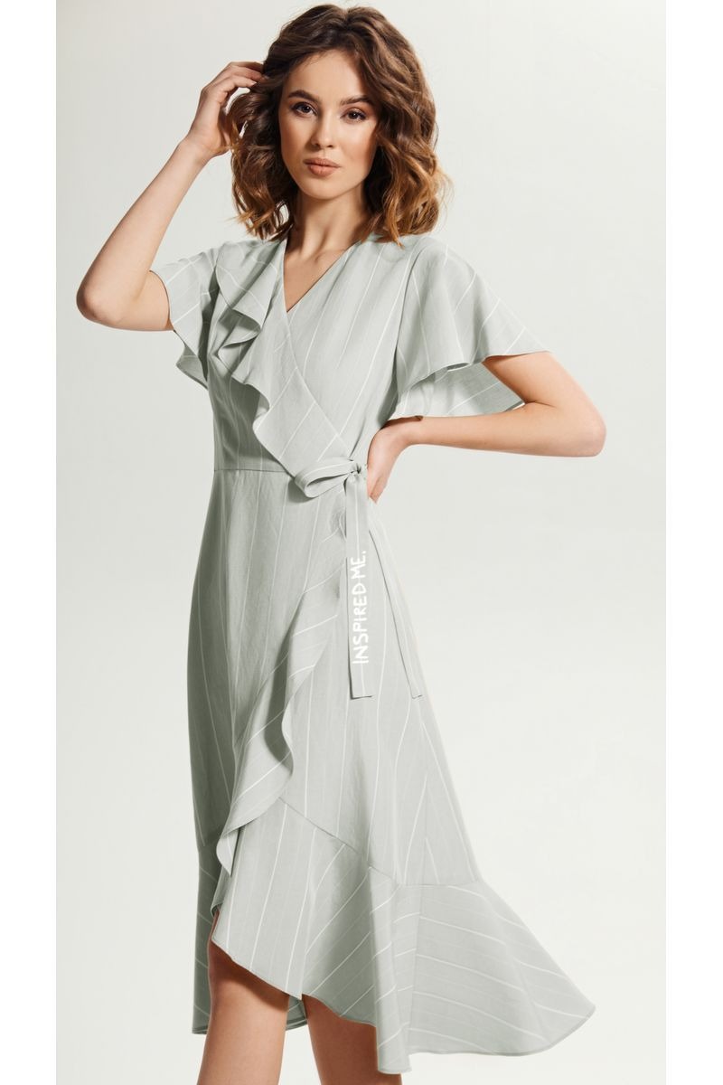платье Vladini 4143 серый