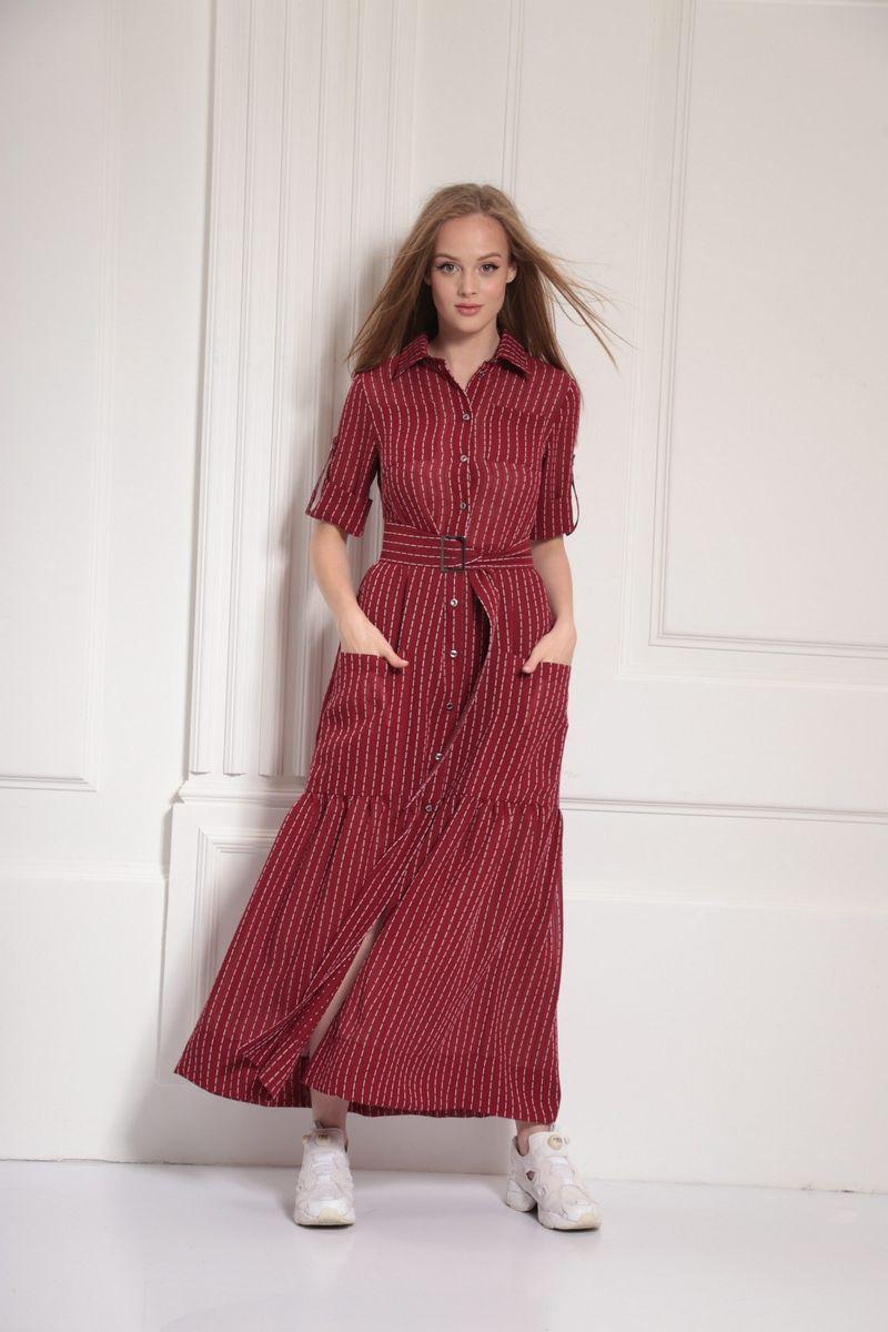 платье AMORI 9477 малина