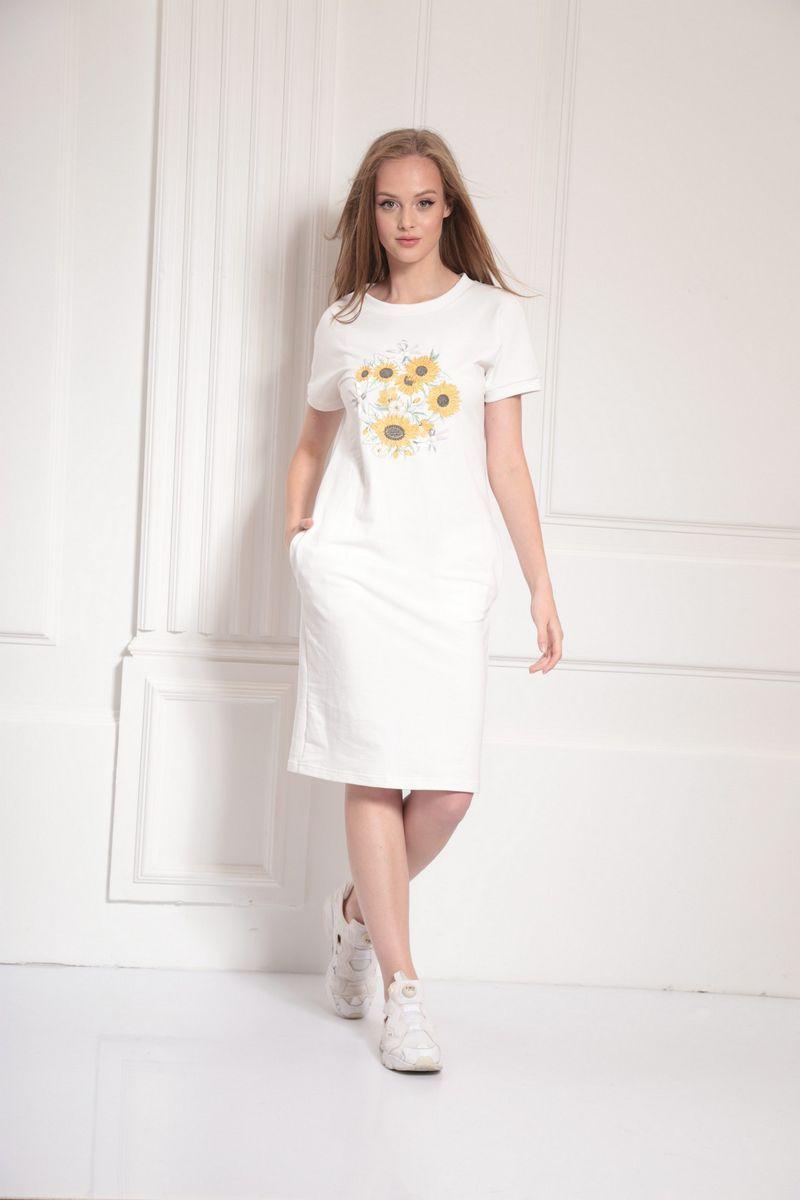 платье AMORI 9479 белый