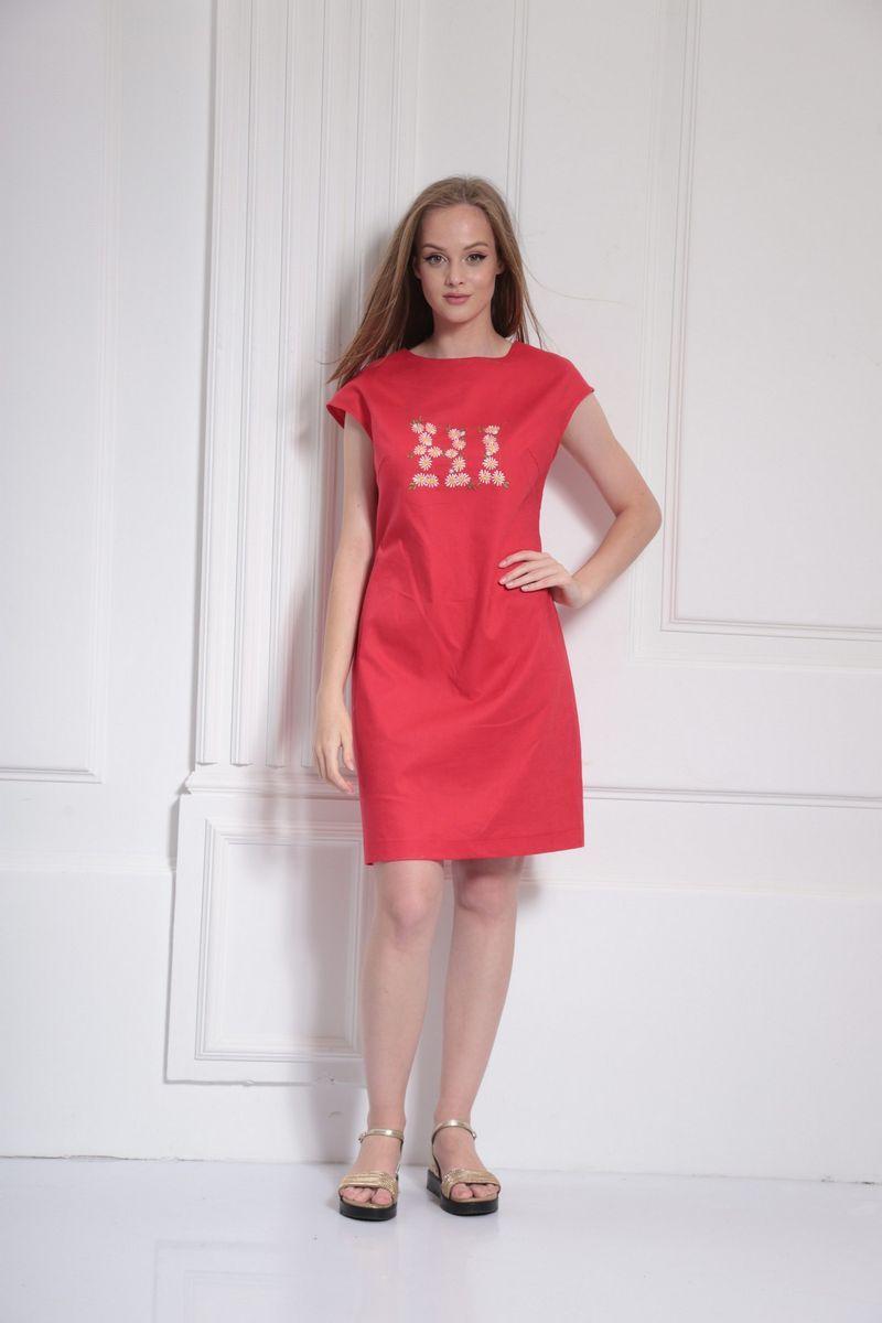 платье AMORI 9483 красный