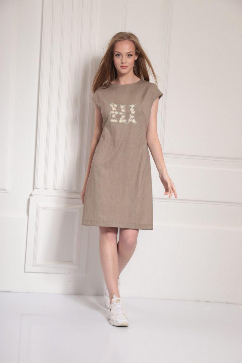 платье AMORI 9483 беж