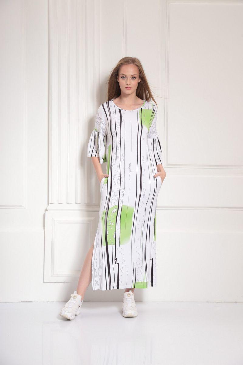 платье AMORI 9486 салат