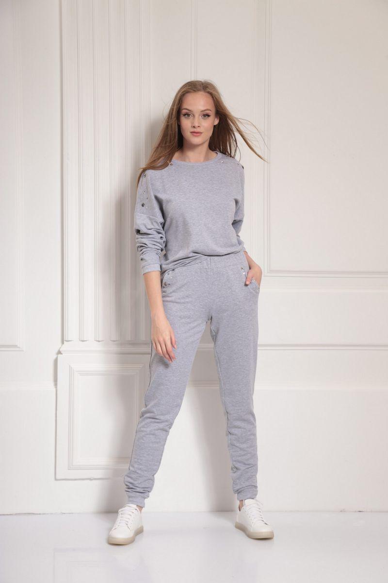 брюки AMORI 5083 серый