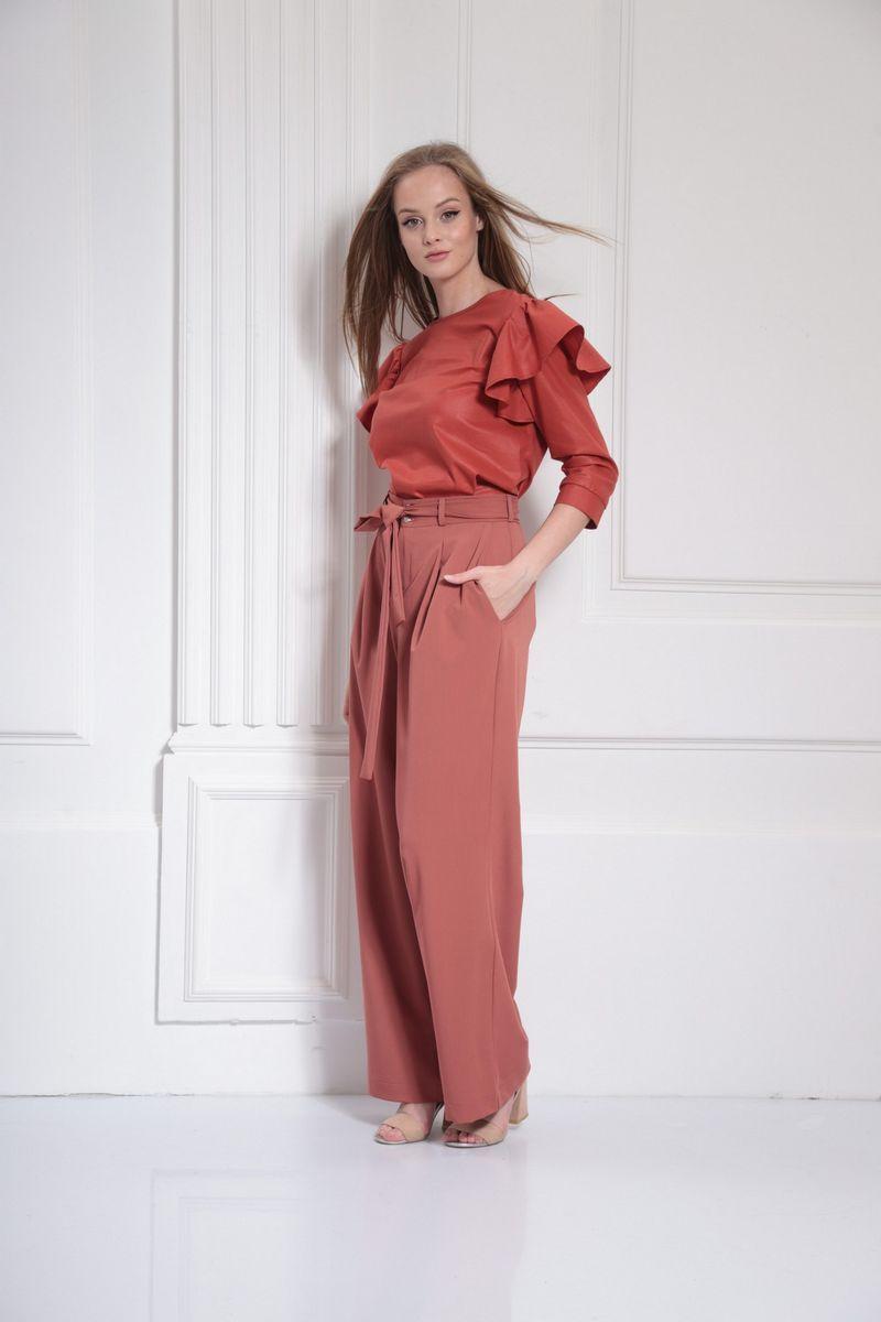 блуза AMORI 6312 терракот