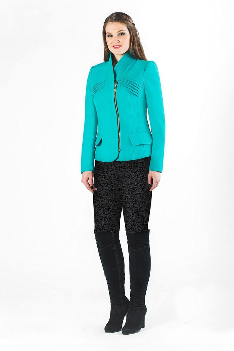 пальто Luana Plus 350 бирюза