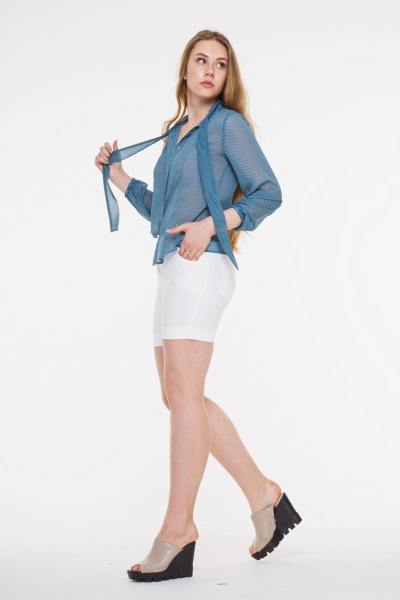 блуза AMORI 6101 бирюзовый