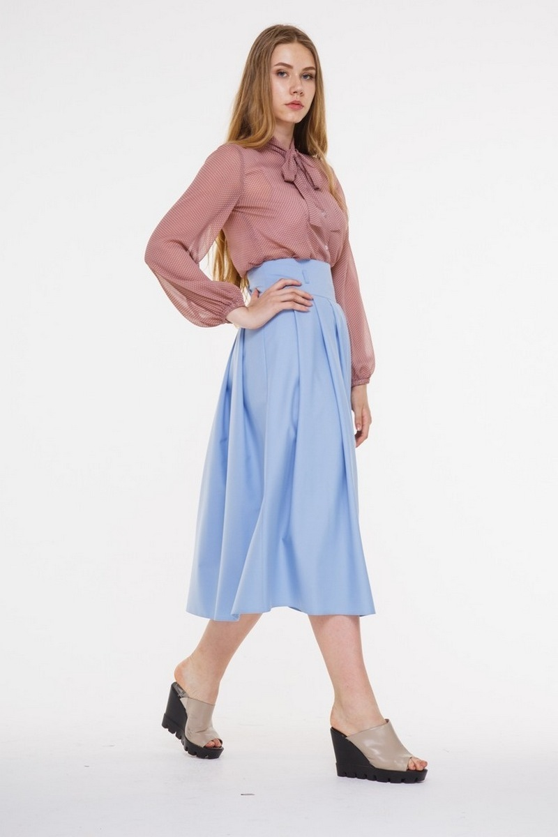 блуза AMORI 6101 кофейный
