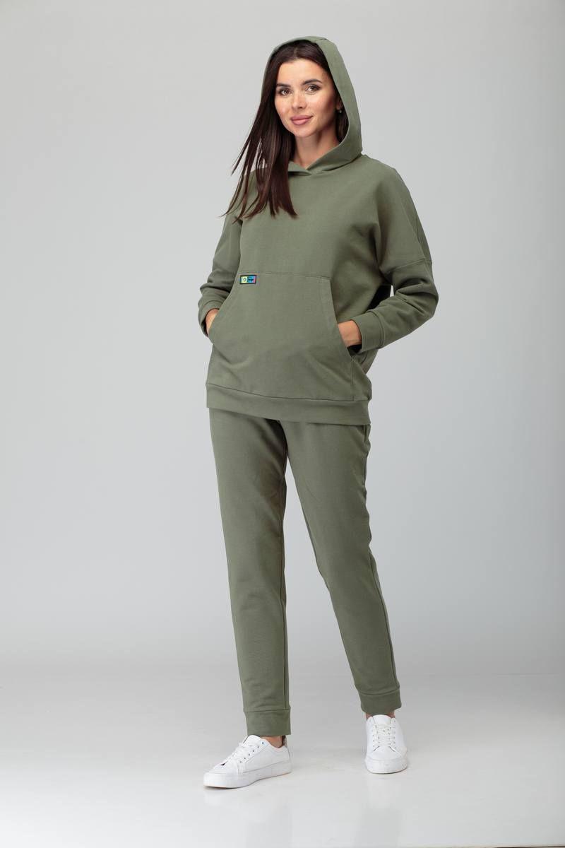 брюки, худи TAiER 903 олива