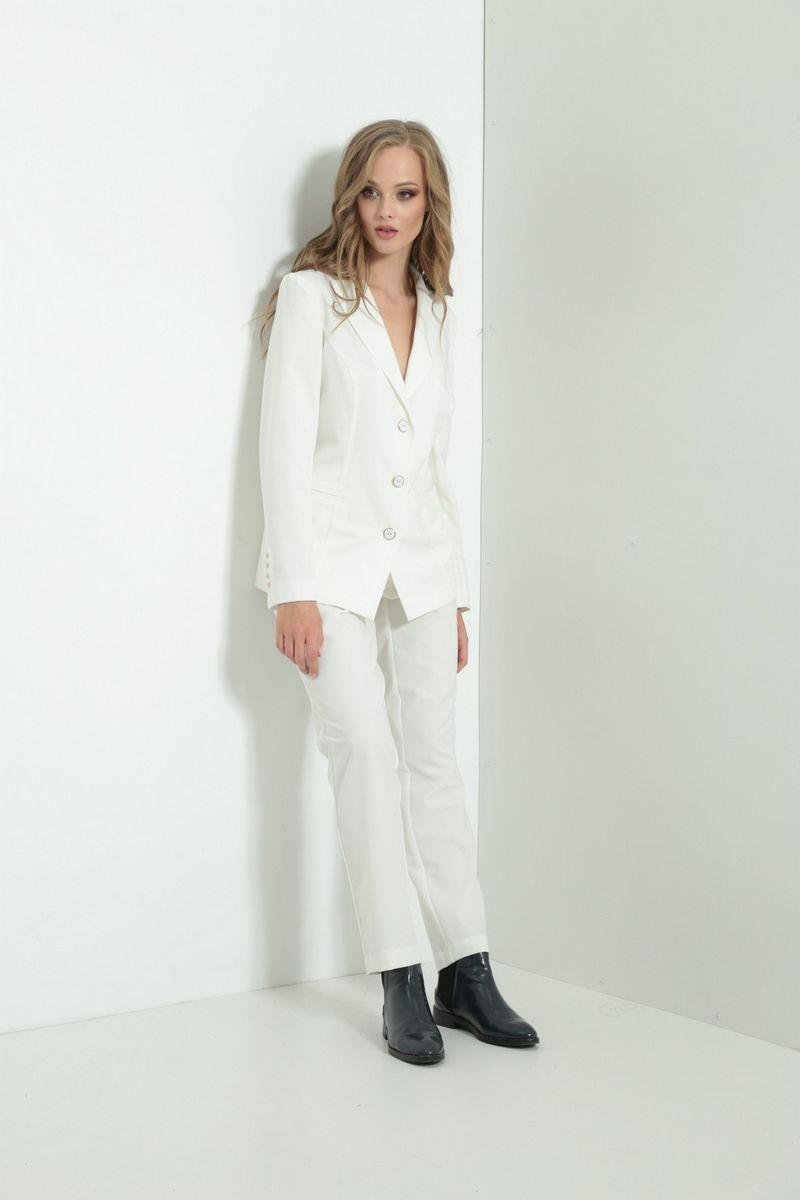 брюки AMORI 5118 белый