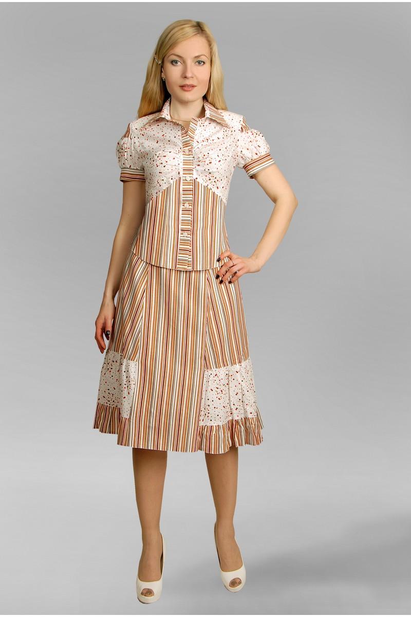 жакет,  юбка Velona 98
