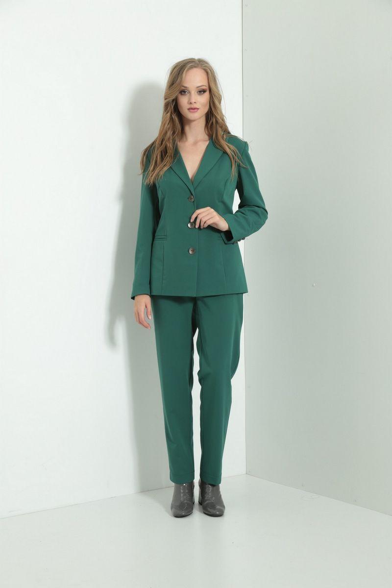 брюки AMORI 5118 зеленый