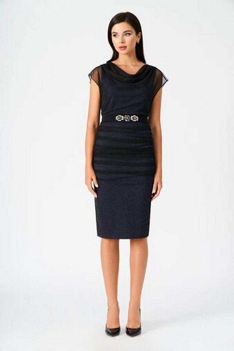 платье Vladini 4123 синий