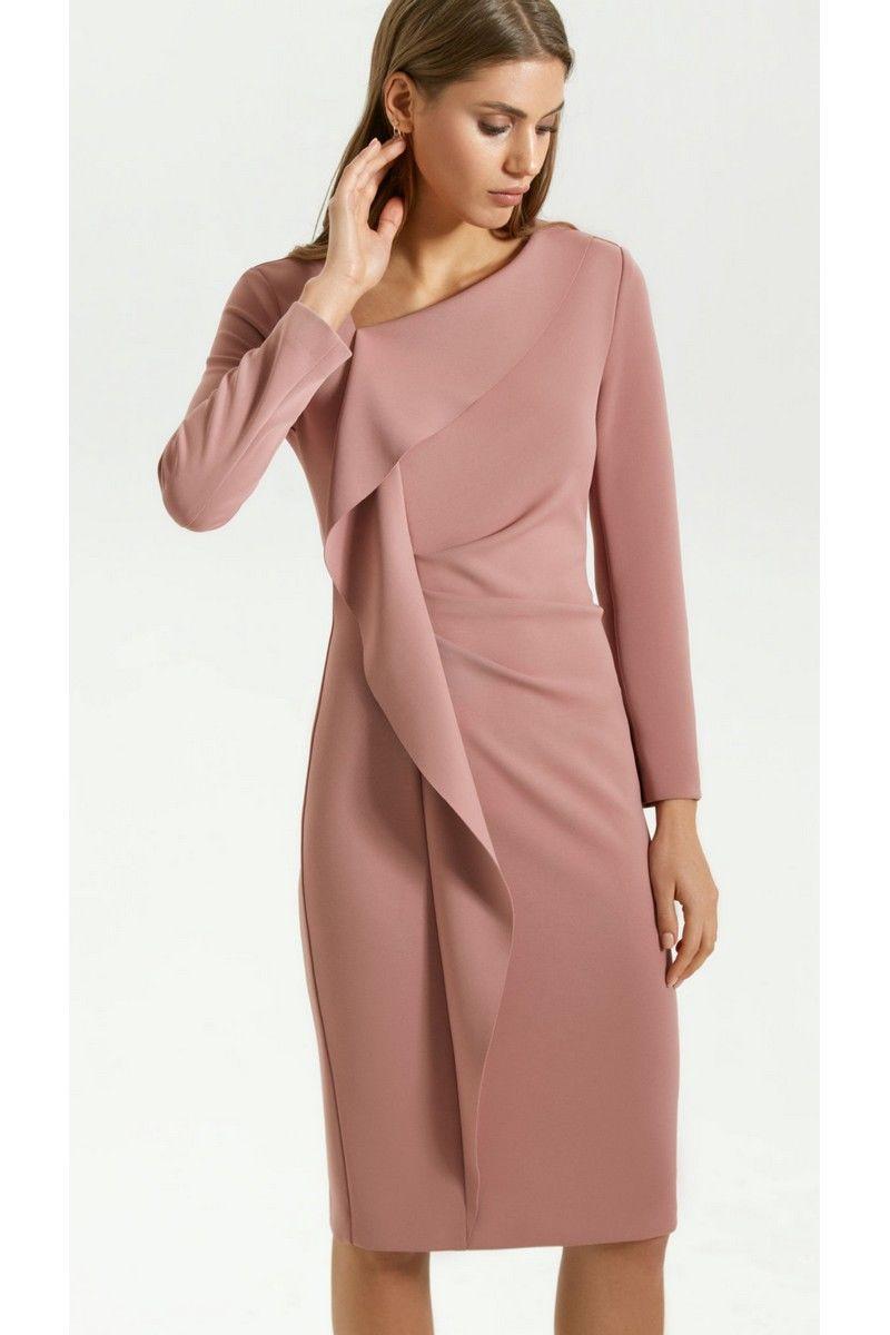 платье Vladini DR0339 розовый