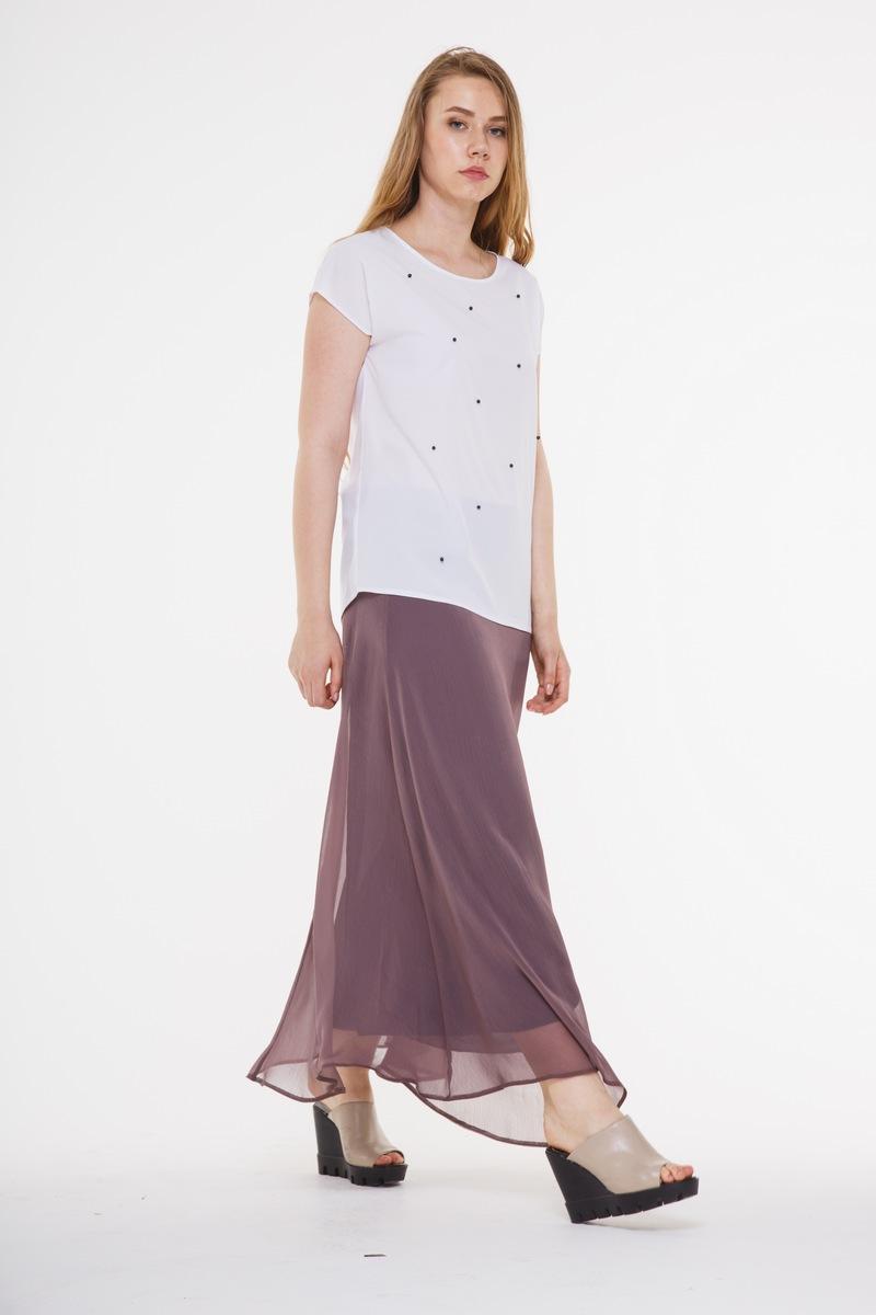 юбка AMORI 3026 баклажан