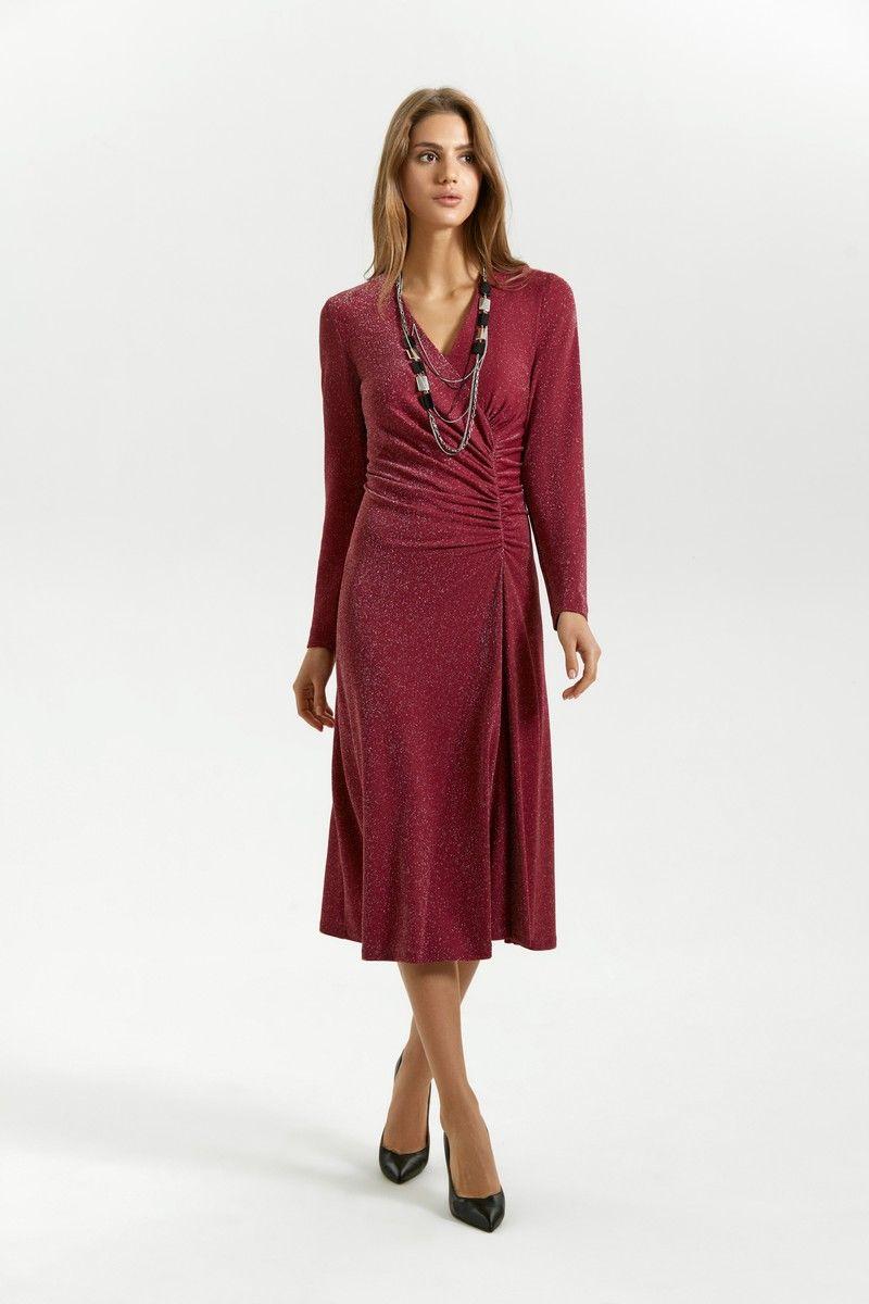 платье Vladini 4138 винный