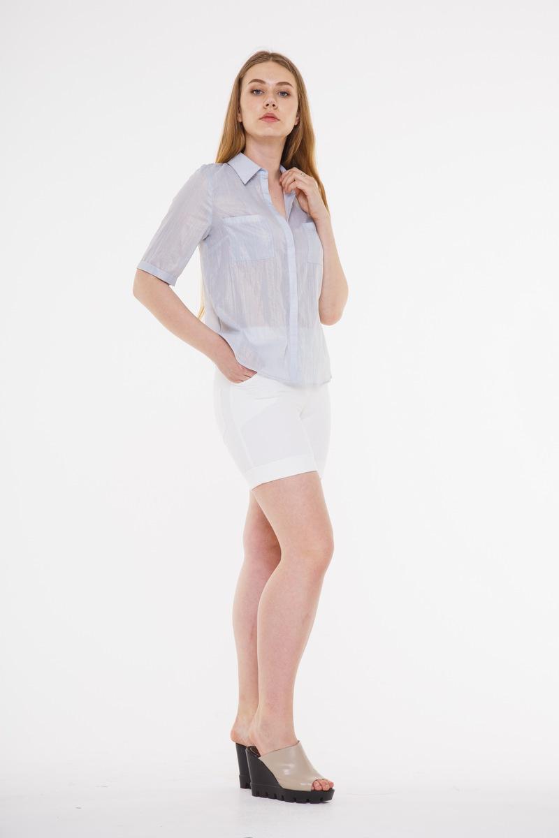 блуза AMORI 6111 светло-серый