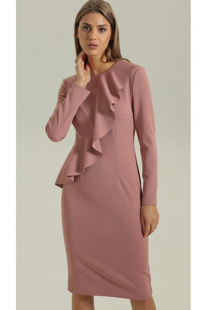 платье Vladini DR0340 розовый