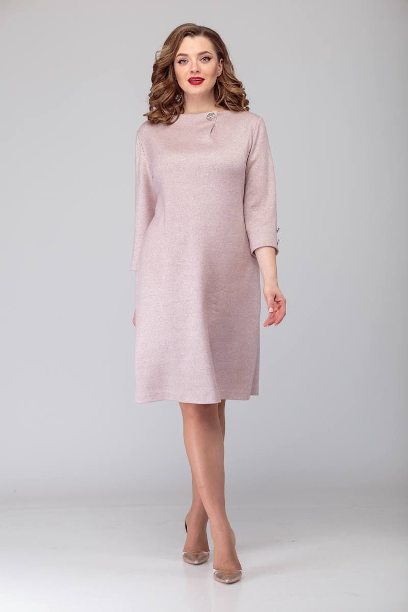 платье TAiER 920 пудра
