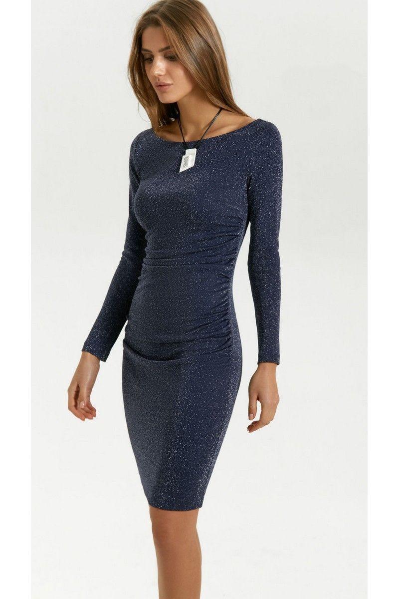 платье Vladini 4139 синий