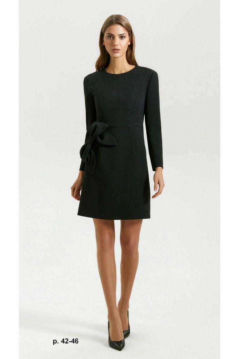 платье Vladini DR0349 черный