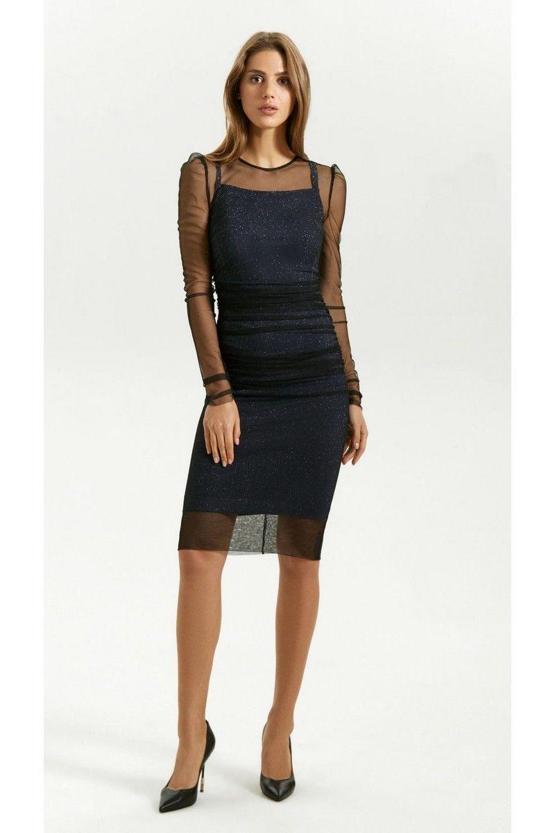 платье Vladini 4133 синий