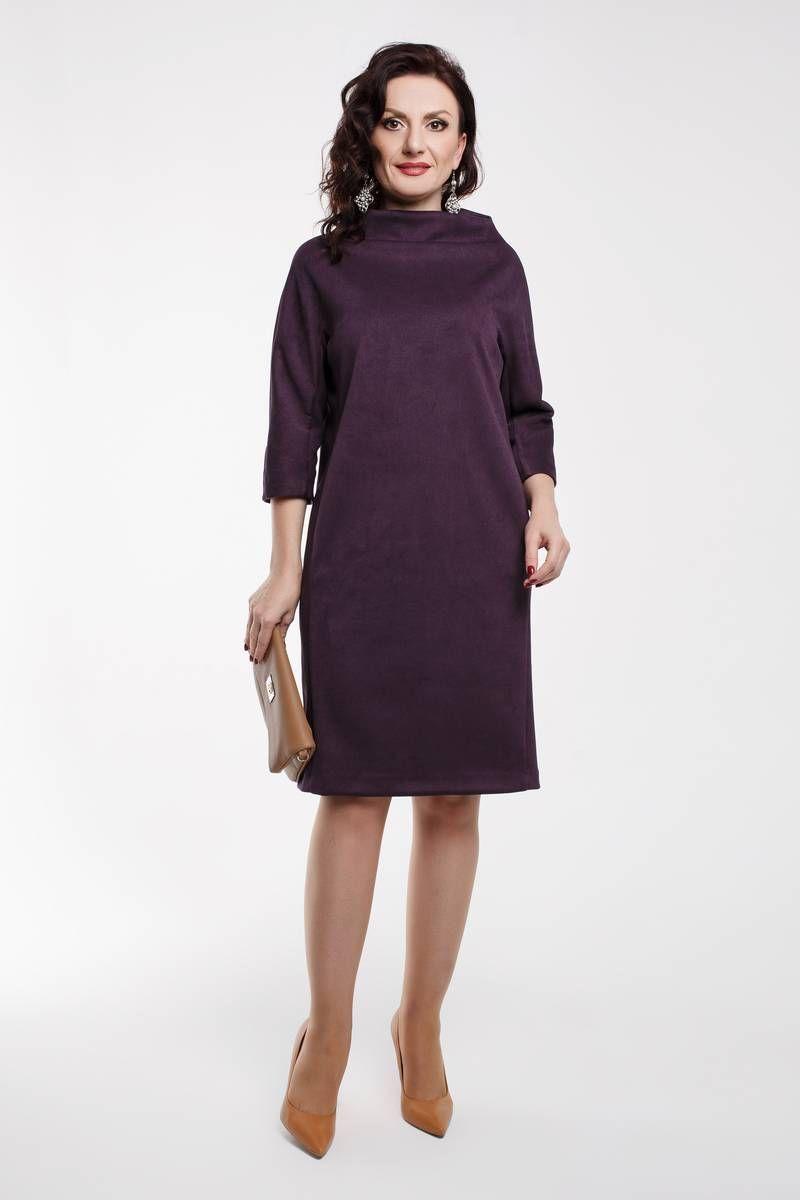 платье Дорофея 550 фиолетовый