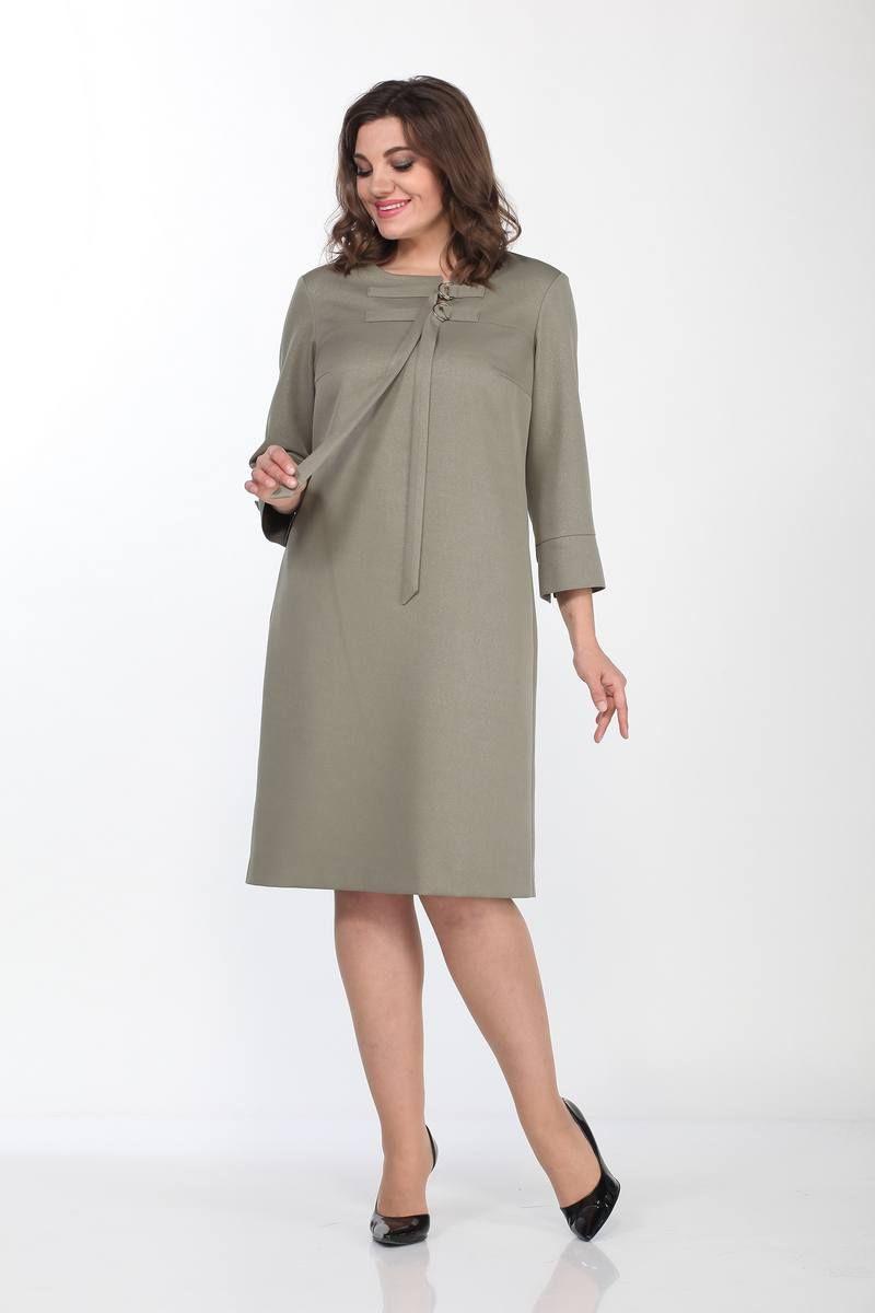 платье Lady Style Classic 2192 оливковый