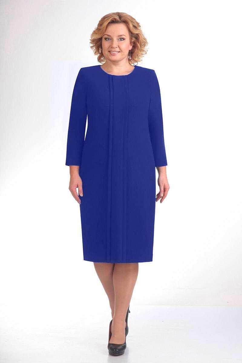 платье ELGA 01-691 василек