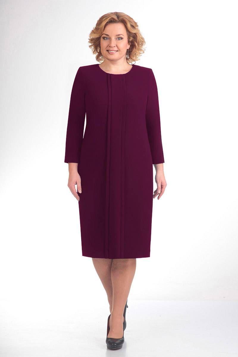 платье ELGA 01-691 слива