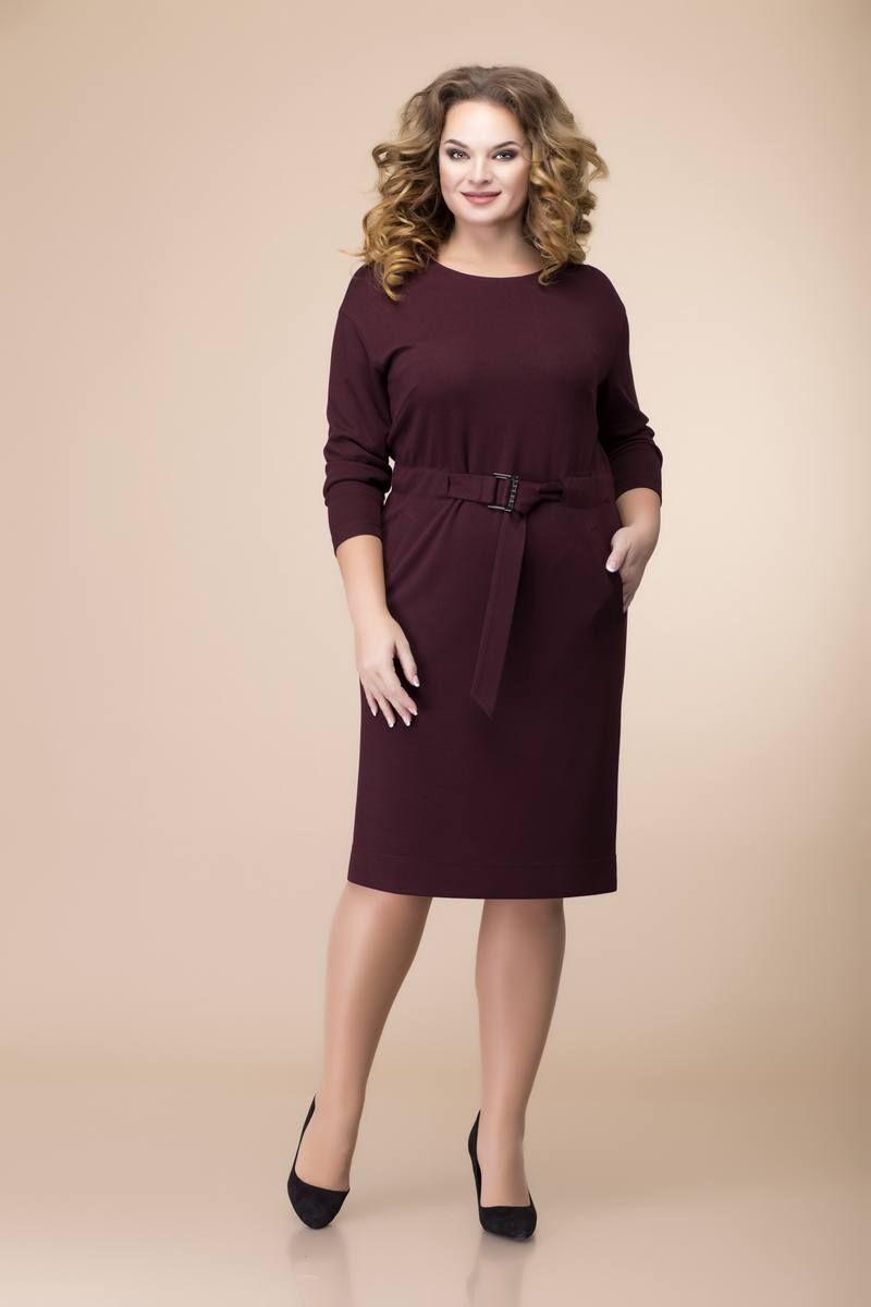 платье Romanovich Style 1-2089 бордо