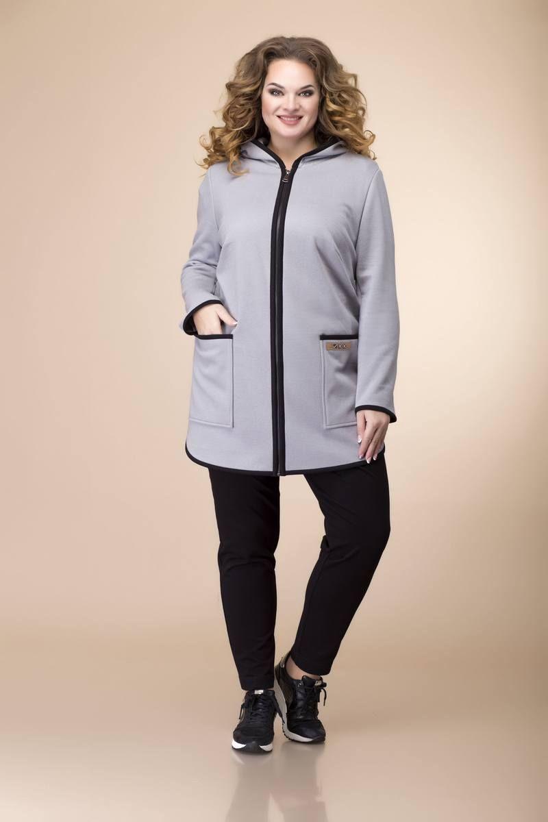 брюки,  джемпер,  кардиган Romanovich Style 3-2087 черный/серый