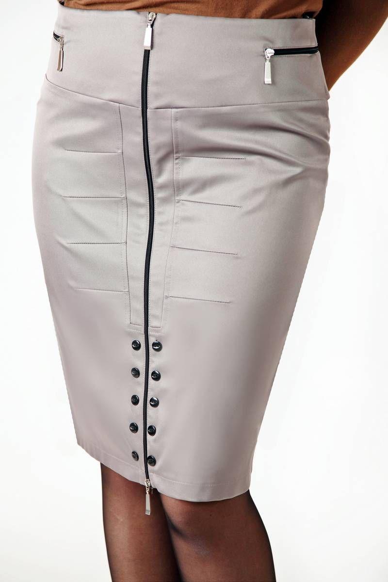 юбка Klever 392 серый